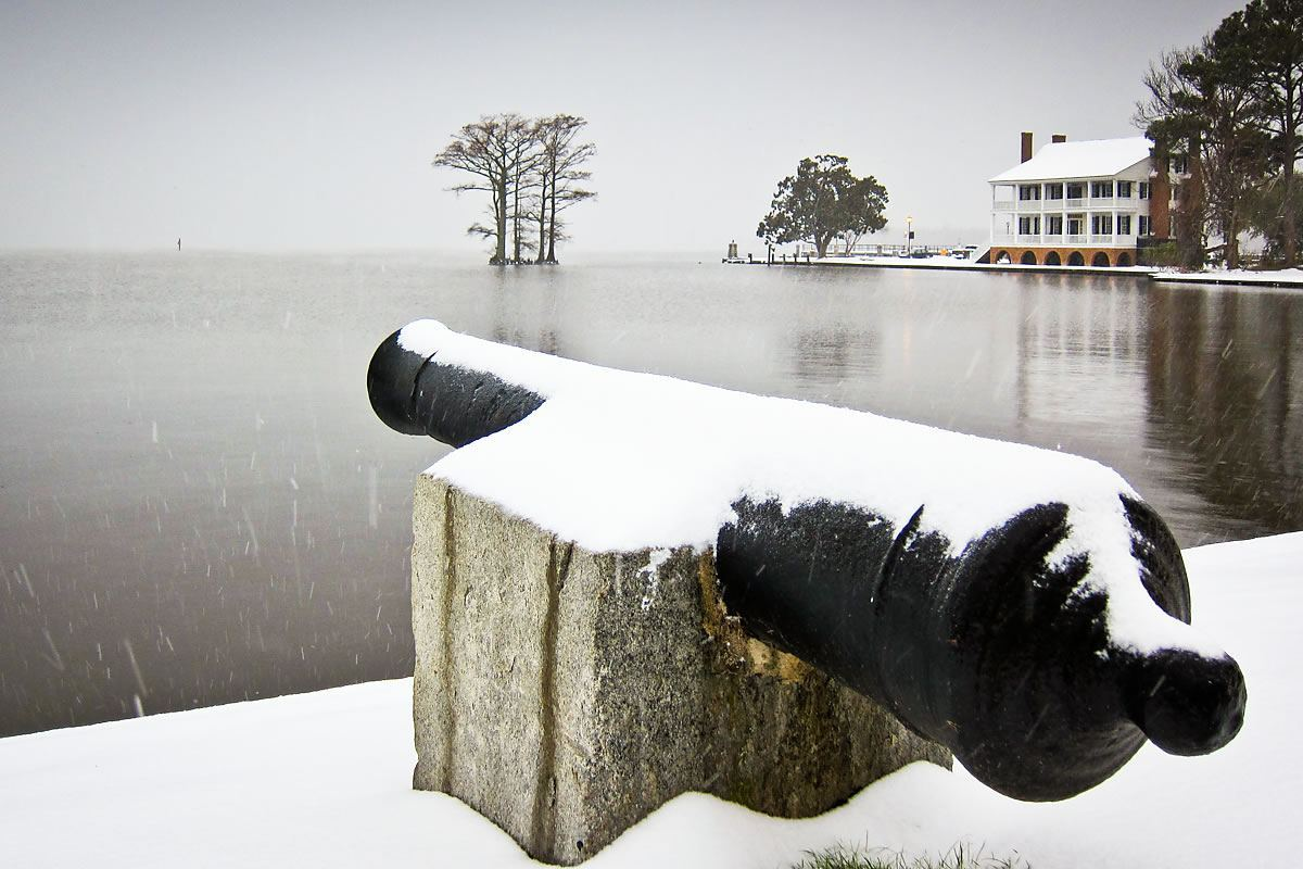 Cannon, Edenton Bay, and Penelope Barker House Welcome Center