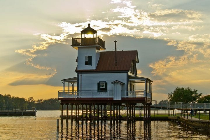 Roanoke River Lighthouse, Edenton, North Carolina (Photo by Kip Shaw)