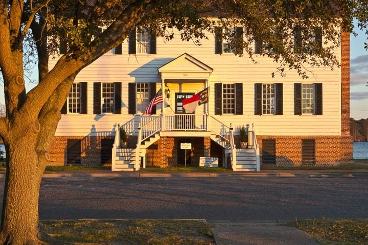 Penelope Barker House Welcome Center, Edenton, North Carolina (Photo by Kip Shaw)